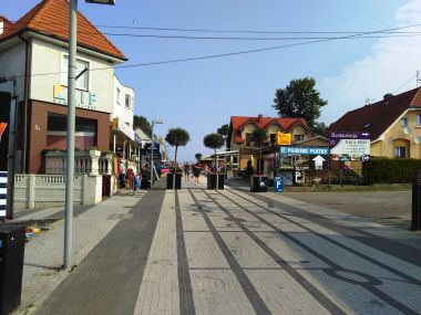 fotka k příspěvku Polsko -Niechorze - Podél pobřeží z Trzesacz do Niechorze