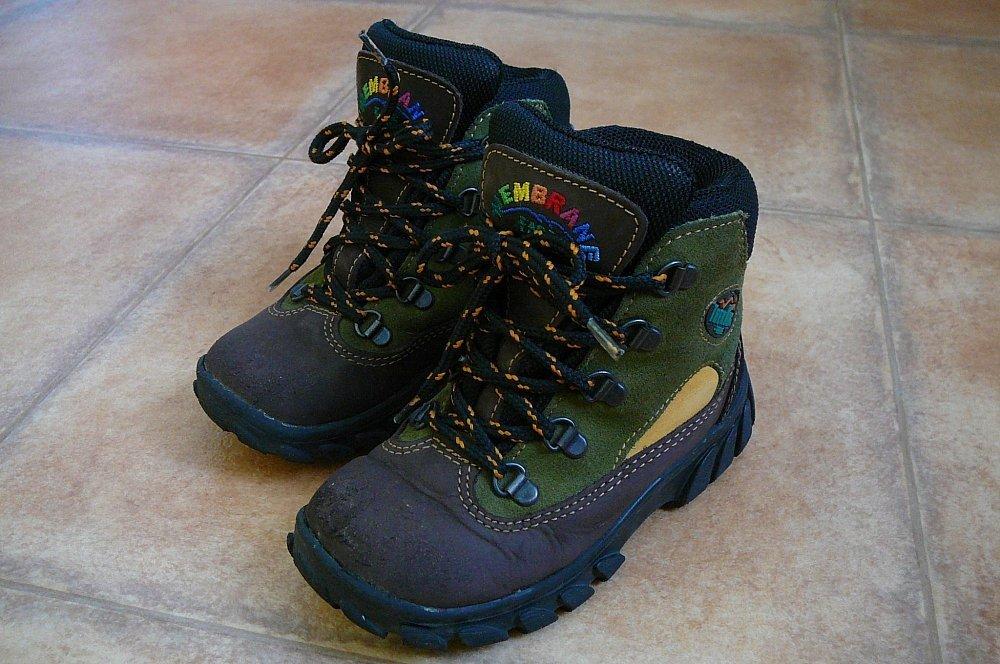 Dětské turistické boty TrekKing 52a7977a39a