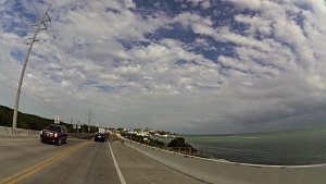 Z Key Westu do Key Largo po U.S. Route 1