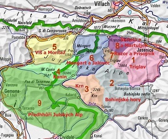 Fotogalerie Slovinsko Julske Alpy 1 Seznameni S Julskymi