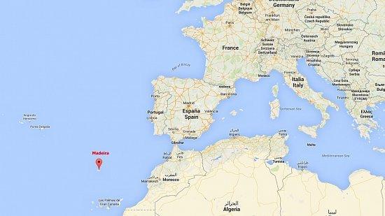 madeira mapa Fotogalerie Ostrov Madeira (1): Barevný ostrov – seznámení s  madeira mapa