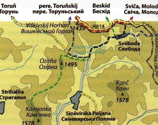Fotogalerie Sinevirske Jezero Vesnice Svoboda Karpaty