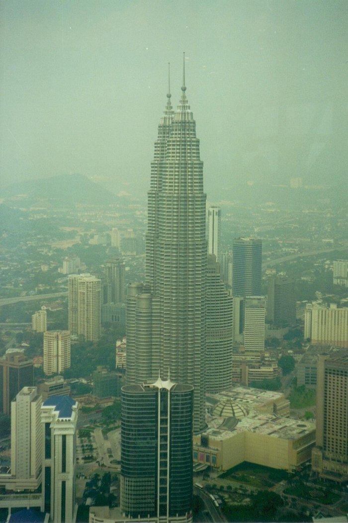 místa, kam jít chodit v Malajsii