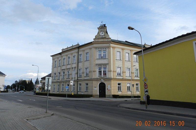 Zabreh Budova Gymnazia Prvni Nejstarsi Stredni Skola Na