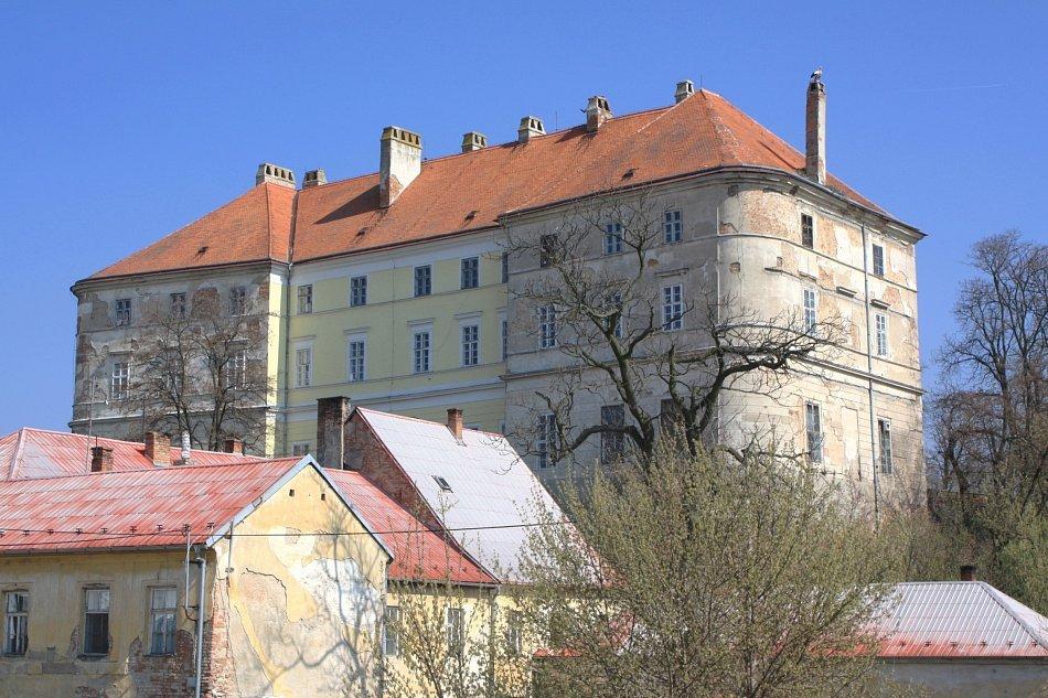 Drnholec - zámek